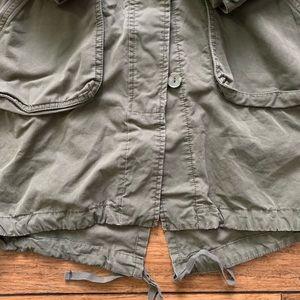 Old Navy Jackets & Coats - Olive Drab Multi Pocket Button Down Parka